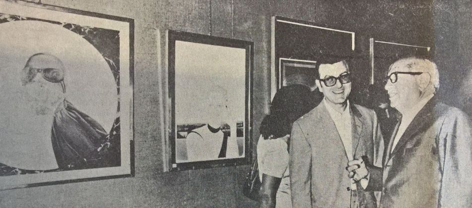 Giuseppe Spataro e Eugenio Riccitelli. Gazzetta di Pescara, 23 agosto 1973. Photo G. Jammarrone, courtesy P. Jammarrone