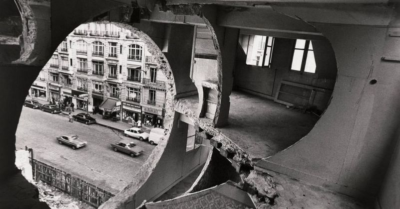 Gordon Matta-Clark, Conical Intersect, 1975. SFMOMA, San Francisco © Estate of Gordon Matta Clark Artists Rights Society (ARS), New York