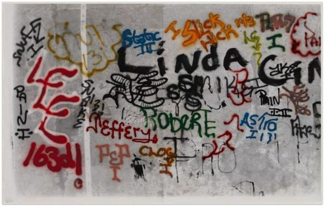 Gordon Matta-Clark, Graffiti. Linda, 1973