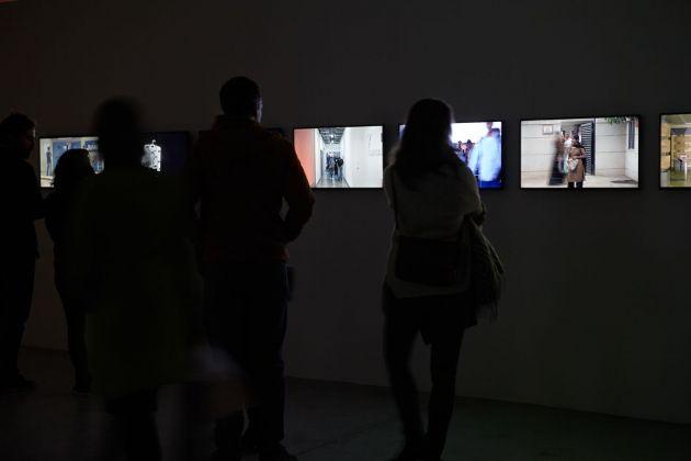 Harun Farocki. Empatie. Exhibition view at Friche Belle de Mai, Marsiglia 2018. Photo © J.C. Lett