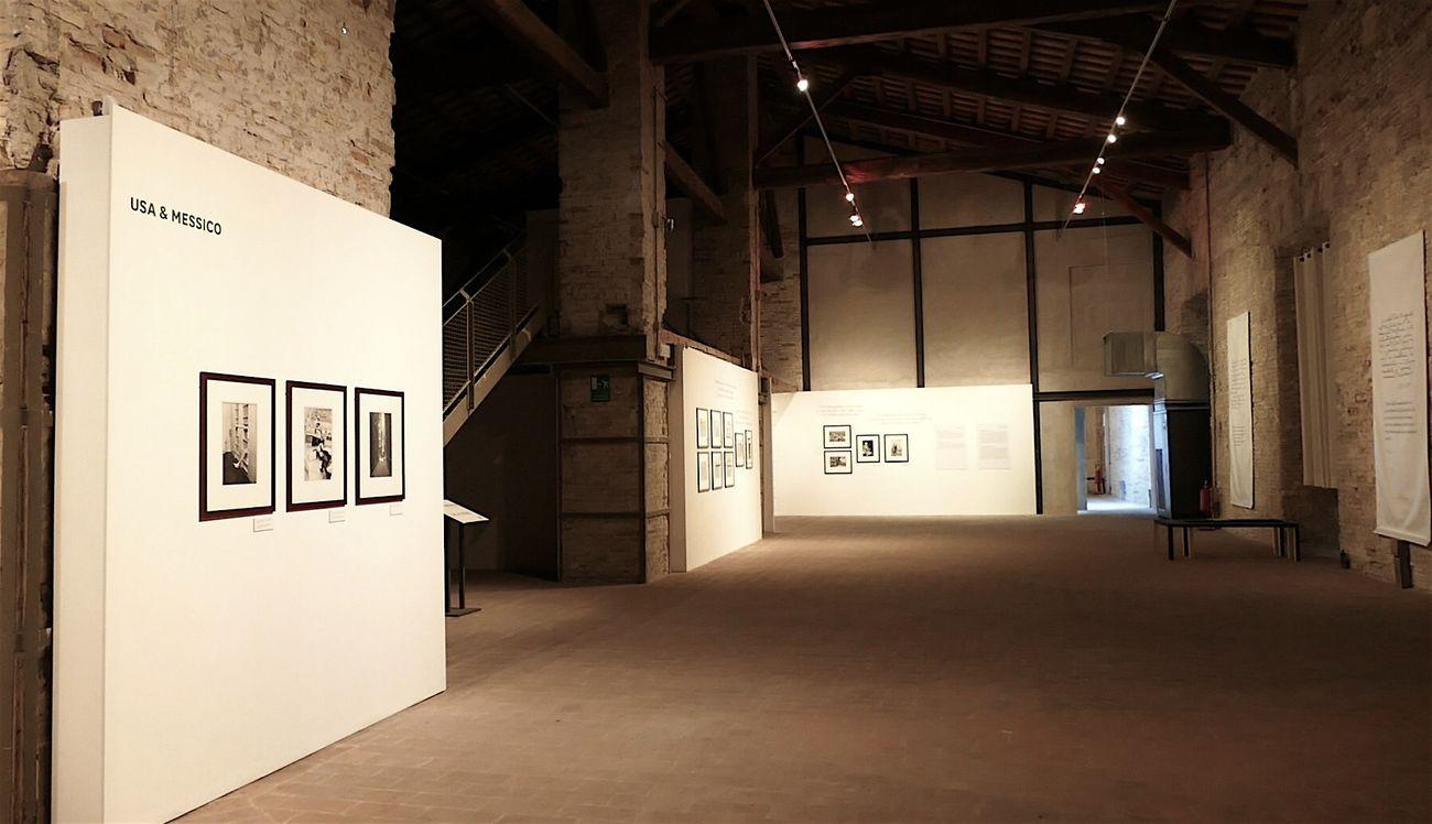 Henri Cartier-Bresson. Fotografo. Exhibition view at Mole Vanvitelliana, Ancona 2018