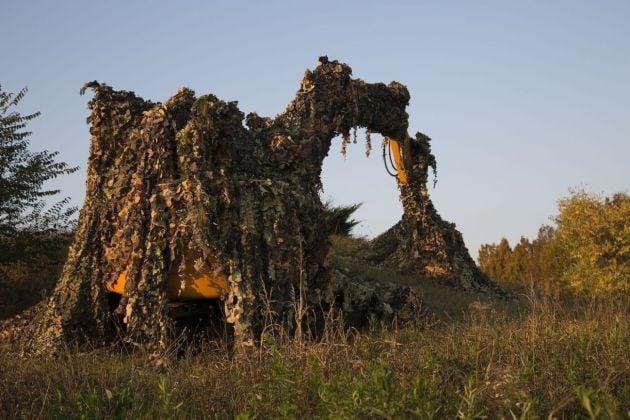 Hilario Isola, Atelier del camouflage, Artissima, Torino 2016