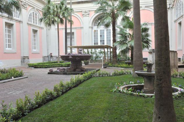 I giardini del MANN di Napoli