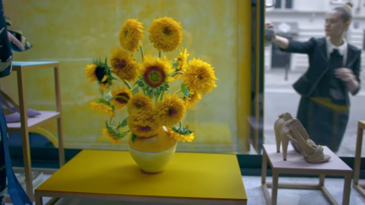 I girasoli di van Gogh nello spot Lexus
