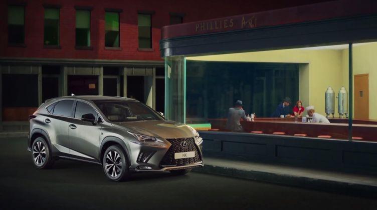 Il dipinto di Hopper e la Lexus Hybrid