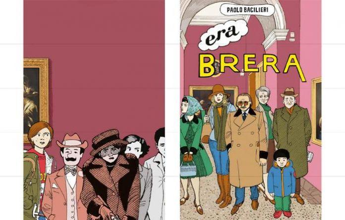 Fumetti nei Musei, Paolo-Bacilieri-nella-Pinacoteca-di-Brera