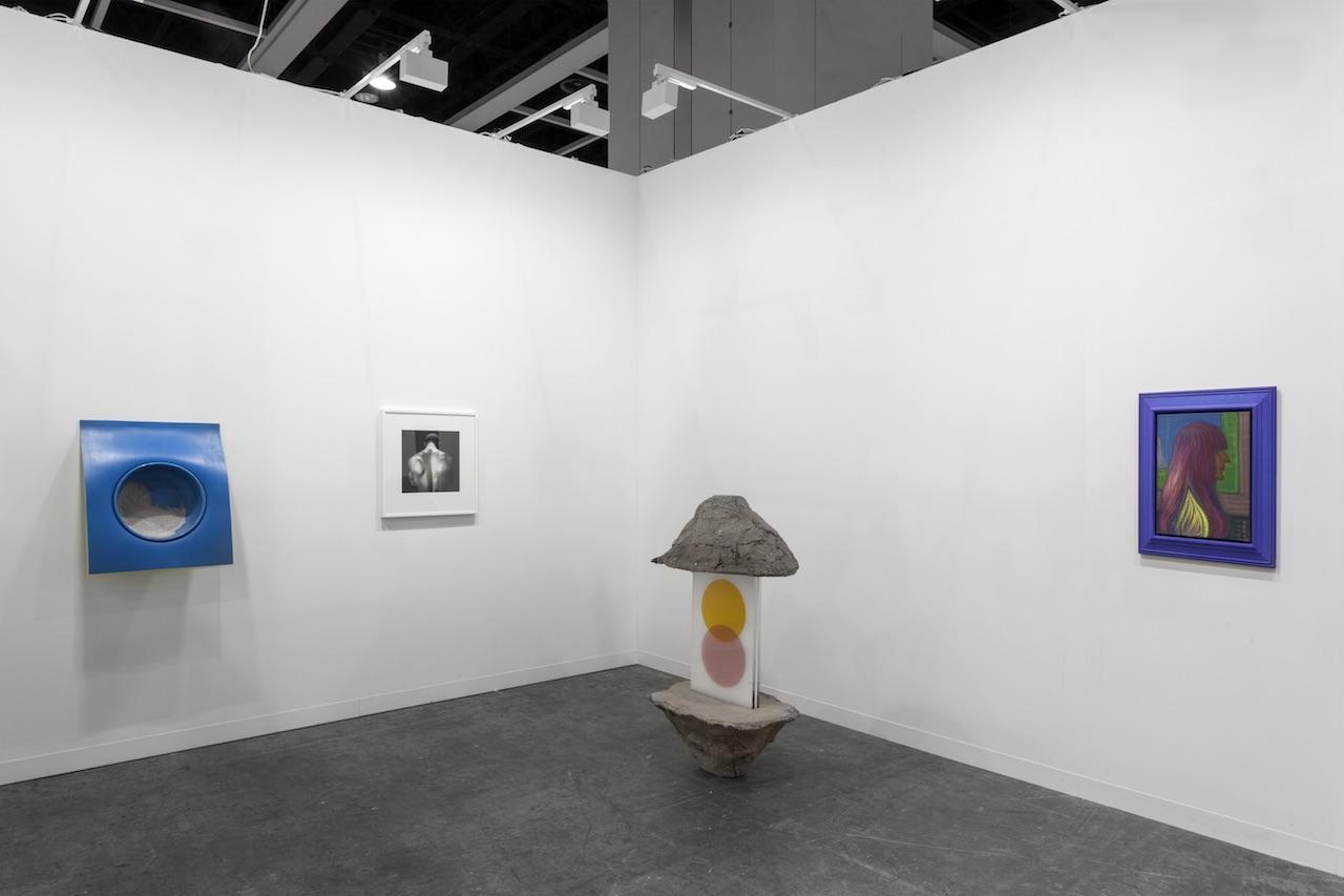 Installation view Art Basel HK 2018 Lo stand di Franco Noero