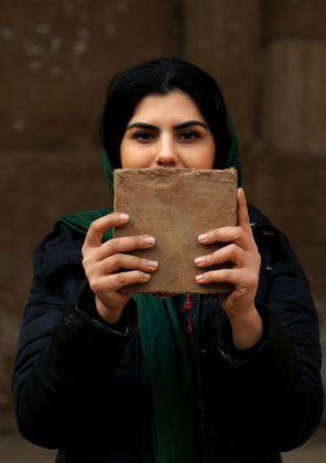 Jasmine Pignatelli, Boundless, 2018. Farzane Vaziri Tabar, Yazd, Iran