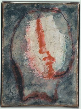 Jean FAUTRIER, Tête d'otage n°20, 1944, Collection particulière, Cologne © Adagp, Paris, 2017