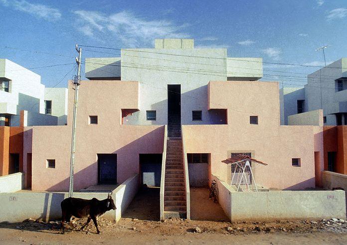 Balkrishna Doshi, Life Insurance Corporation Housing 1973