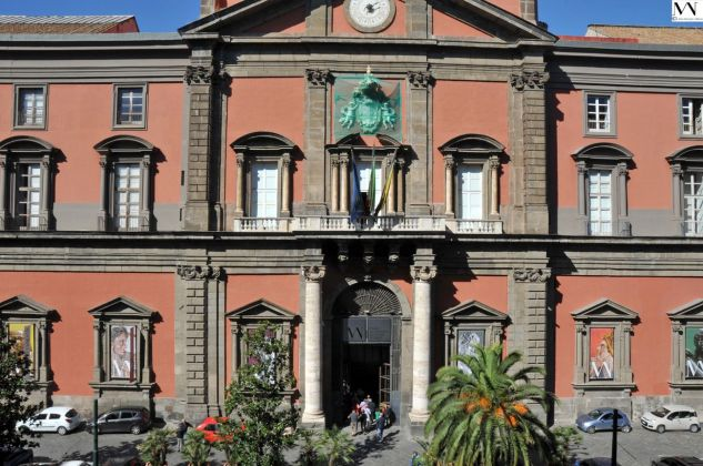 La facciata del MANN di Napoli