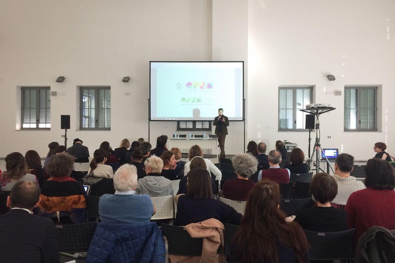 La presentazione a Torino dei bandi della Compagnia di San Paolo, marzo 2018