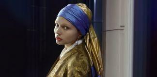La ragazza con l'orecchino di perla di Vermeer rivive nello spot Lexus