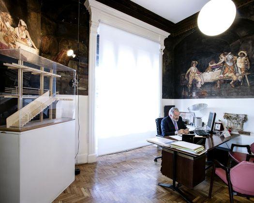 La sede dello studio Schiattarella Associati. Roma, gennaio 2018. Photo Credits © Luigi Filetici