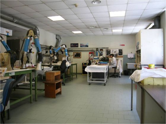 Laboratorio di restauro, MANN, Napoli