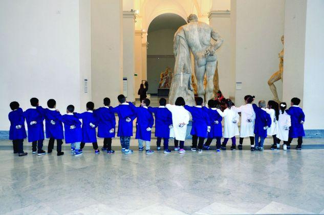 Laboratorio didattico al MANN di Napoli