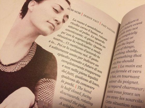 Lilia Angela Cavallo – Il Dizionario dei Gesti (Iacobelli Editore, Roma 2017)