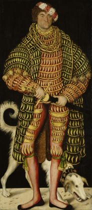 Lucas Cranach il Vecchio, Enrico il Pio, duca di Sassonia e Caterina di Meclemburgo, 1514, Gemäldegalerie Alte Meister, Staatliche Kunstsammlungen Dresda