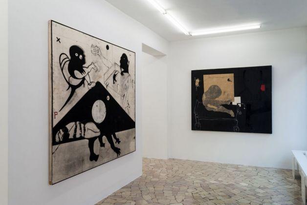 Marco Fantini. Concerto campestre (o interrotto). Exhibition view at Spazio KN & Paolo Maria Deanesi Gallery, Trento 2018