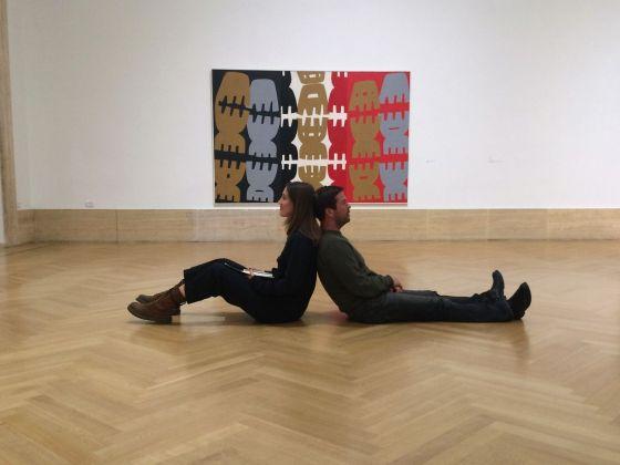 Marco Peri, Tableau Vivant dinamici e teatrali. Nuovi occhi, Galleria Nazionale, Roma 2017