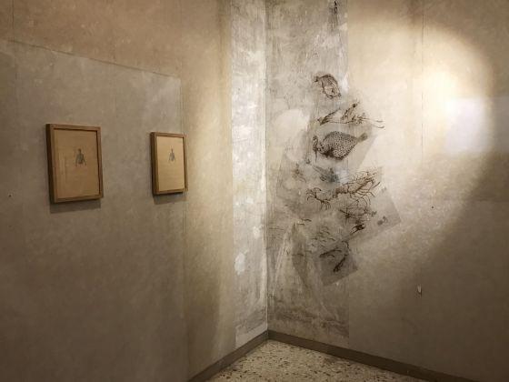 Massimo Ruiu. Mare Nero. Exhibition view at Casa Vuota, Roma 2018