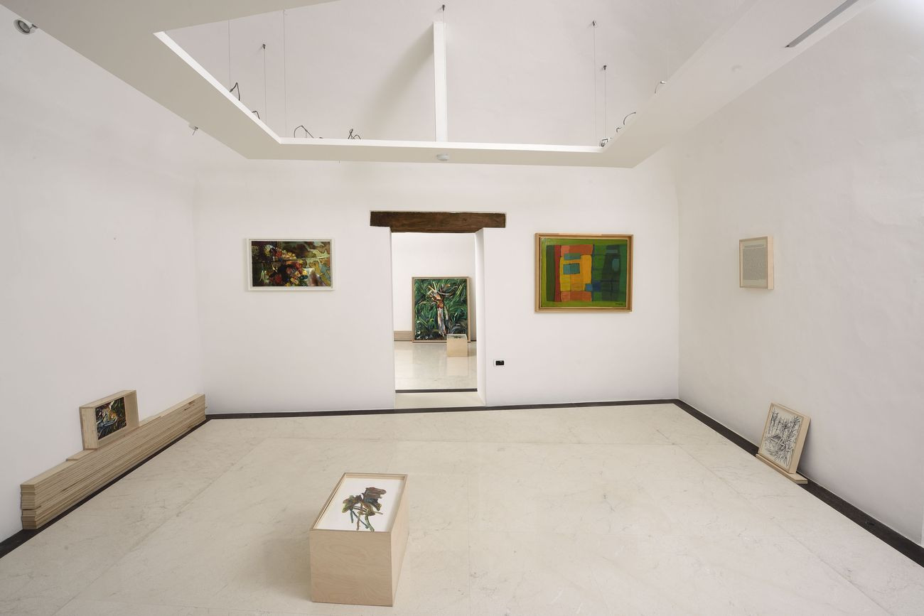 Matteo Fato. Exhibition view at Fondazione Malvina Menegaz, 2018. Photo Gino Di Paolo