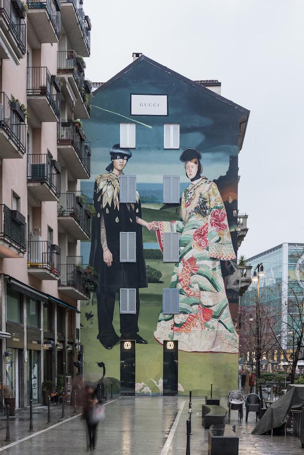 Gucci Art Wall Milano, Courtesy of Delfino Sisto Legnani and Marco Cappelletti