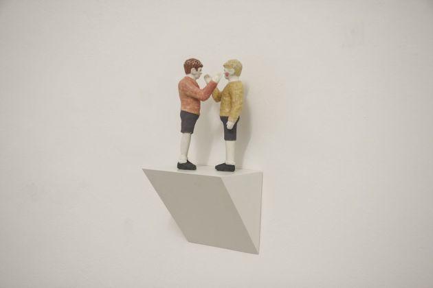 Miro Trubač, Red cheeks, 2018. Galleria Opere Scelte, Torino