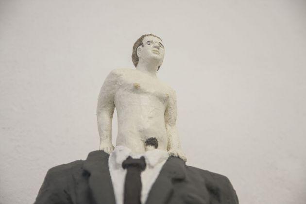 Miro Trubač, What's my age again, 2018 (particolare). Galleria Opere Scelte, Torino