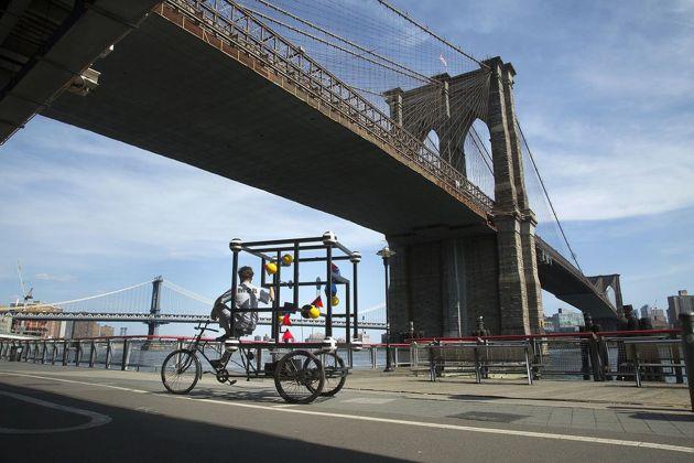 Niko de La Faye, MB2. Brooklyn Bridge, agosto 2016