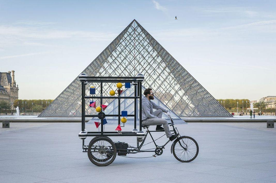 Niko de La Faye, MB2. Louvre, Parigi, 2014