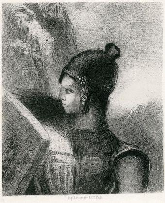 Odilon Redon Brénnhilde, 1885, private collection