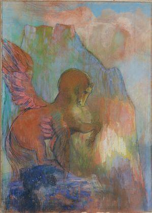 Odilon Redon Pegasus, 1895 1900, private collection