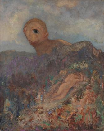 Odilon Redon, The cyclops, circa 1914