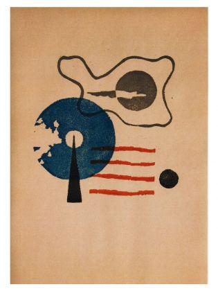 Osvaldo Bot, Sfumoxilografia da 20 sfumoxilographie [sic] a plusieurs couleurs, 1933. Piacenza, collezione privata