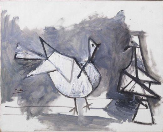 Pablo Picasso, Deux pigeons, 1960. Collezione Roberto Casamonti, Firenze
