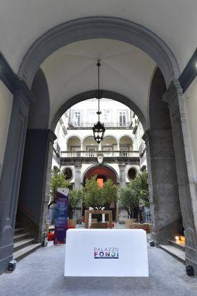 Palazzo Fondi, cortile. Ph. Fabio Pariante