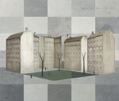 Paolo Ventura, Piazza Irnerio 2016