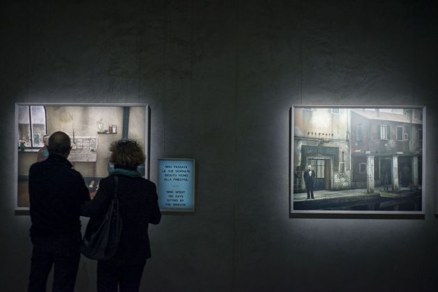 Paolo Ventura. Racconti Immaginari. Installation view at Armani Silos, Milano 2018. Photo Elena Arzani