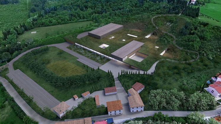 Piuarch, Campus Fendi a Bagno a Ripoli (Firenze). Courtesy Piuarch