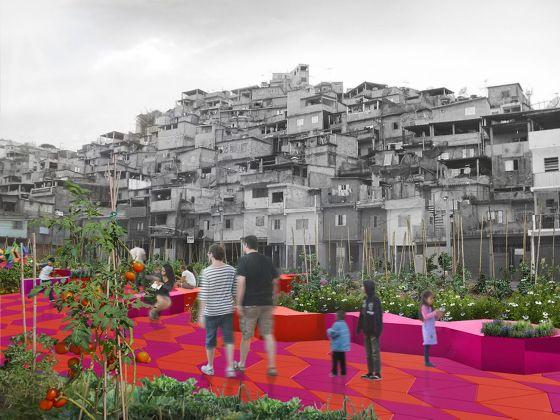 Piuarch, Espaço, un progetto di rigenerazione urbano per São Paulo. Courtesy Piuarch