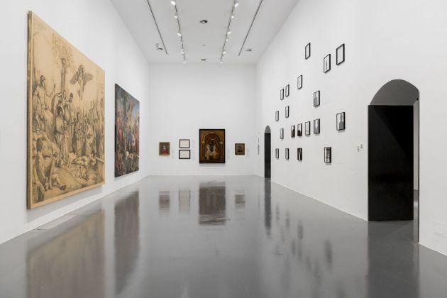Raffaello e l'eco del mito. Installation view at GAMeC, Bergamo 2018. Photo Giancarlo Rota