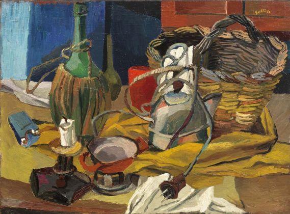 Renato Guttuso, fiasco candela bollitore,1940-41. Collezione Roberto Casamonti, Firenze