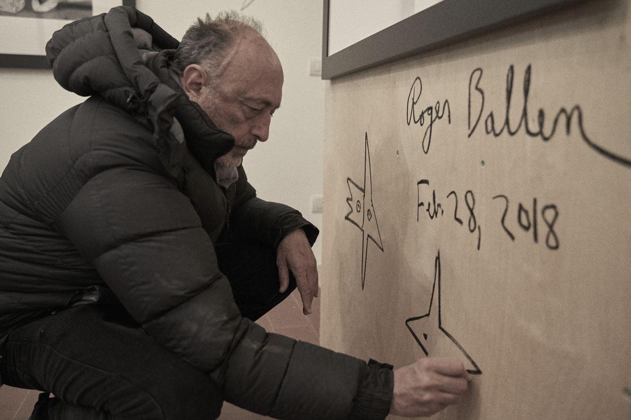 Roger Ballen. Umbra Penumbra et Antumbra. Exhibition view at Le Dictateur, Milano 2018. Courtesy of the artist. Photo Germano Finco