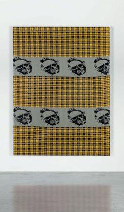 Rosemarie Trockel, O.T. (Death's Heads), 1990, £ 465.000 (courtesy of Sotheby's)