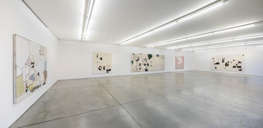 Sally Ross. Painting Piece By Piece. Exhibition view at Collezione Maramotti, Reggio Emilia 2018. Photo Roberto Marossi