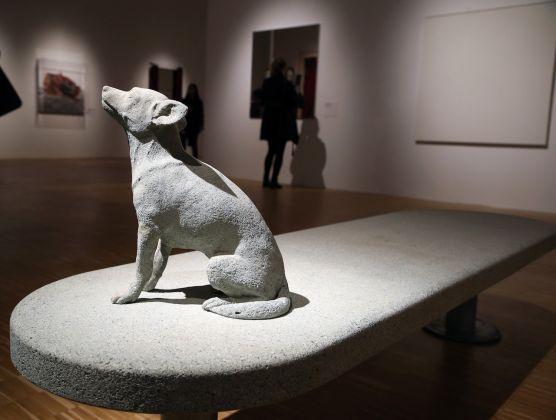 Alcune immagini dalla collezione d'Arte Contemporanea della Fondazione di San Patrignano, esposta alla mostra WORK IN PROGRESS presso gli spazi della Triennale di Milano. ph Matteo Bazzi