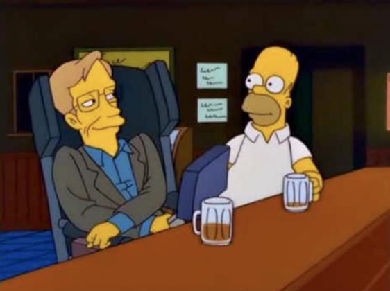 Cameo di Stephen Hawking in una puntata dei Simpson