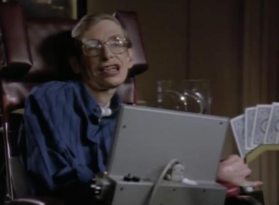 Cameo di Stephen Hawking in una puntata di Star Trek