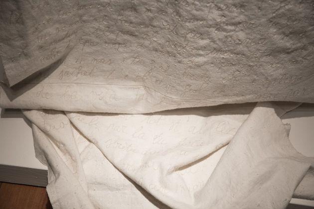 Silvia Bigi, Il Codice, 2017, dalla serie L'albero del latte. Installation view at Fondazione Dino Zoli, Forlì 2018. Photo © Cristina Patuelli